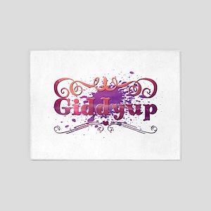 Giddyup 5'x7'Area Rug
