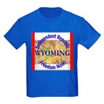 Wyoming-3 Kids Dark T-Shirt