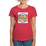 Wyoming-3 Women's Dark T-Shirt