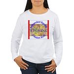 Wyoming-3 Women's Long Sleeve T-Shirt
