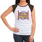 Wyoming-3 Women's Cap Sleeve T-Shirt