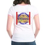 Wyoming-3 Jr. Ringer T-Shirt