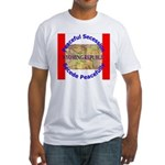 Wyoming-1 Fitted T-Shirt