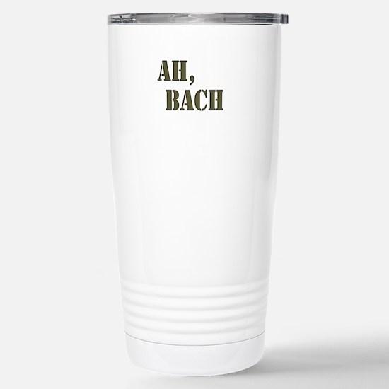Ah, Bach Stainless Steel Travel Mug
