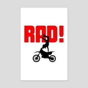 Rad Motocross Mini Poster Print