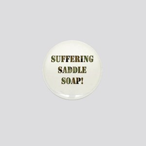 Suffering Saddle Soap Mini Button