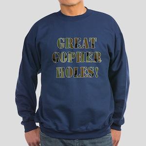 Great Gopher Holes Sweatshirt (dark)