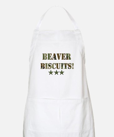 Beaver Biscuits BBQ Apron
