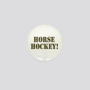Horse Hockey Mini Button