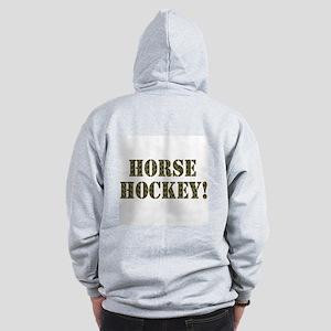 Horse Hockey Zip Hoodie