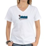 Tell the Band to Go Home Women's V-Neck T-Shirt
