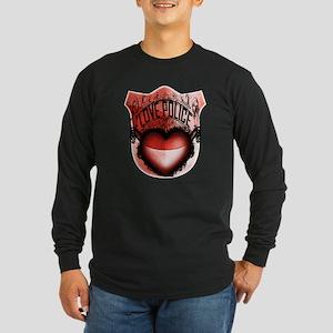 Love Police Long Sleeve Dark T-Shirt