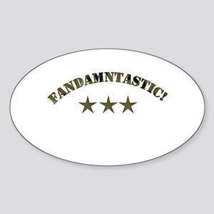 Fandamtastic Oval Sticker