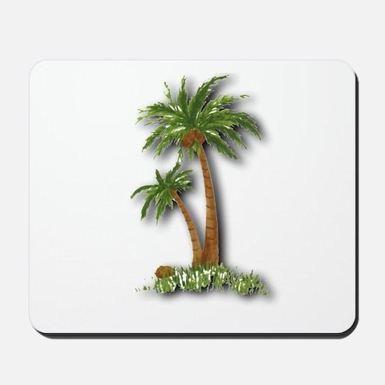 Twin palms Mousepad