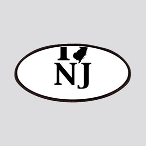 I Heart New Jersey graphic design Patch