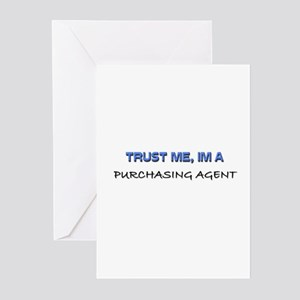 Trust Me I'm a Purchasing Agent Greeting Cards (Pk