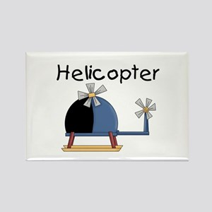 Helicopter Rectangle Magnet