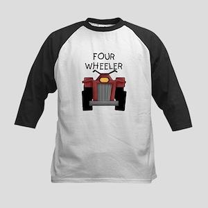 Four Wheeler Kids Baseball Jersey