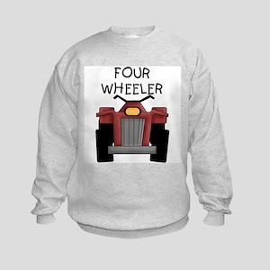 Four Wheeler Kids Sweatshirt
