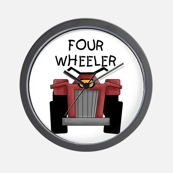Four Wheeler Wall Clock
