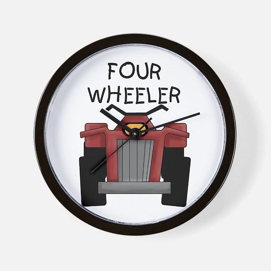 Four Wheeler Wall Clock