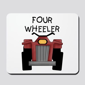 Four Wheeler Mousepad