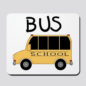 School Bus Mousepad
