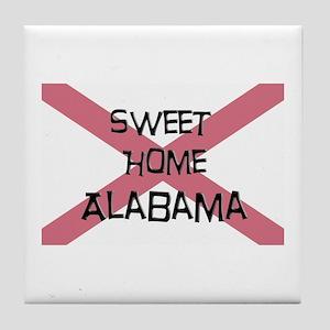 Sweet Home Alabama Tile Coaster