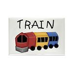 Train Rectangle Magnet