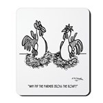 Chicken Cartoon 2648 Mousepad