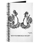 Chicken Cartoon 2648 Journal