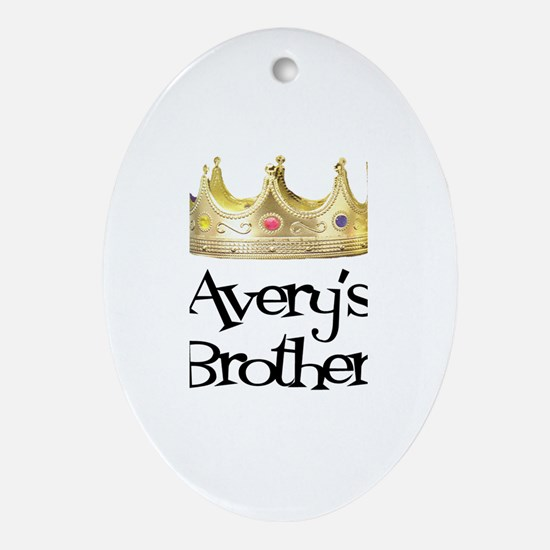 Avery's Brother Oval Ornament