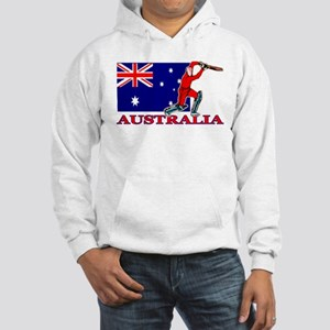 Australia Cricket Player Hooded Sweatshirt