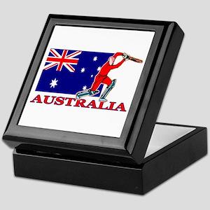 Australia Cricket Player Keepsake Box