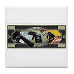 CIA Tools of the Trade Tile Coaster
