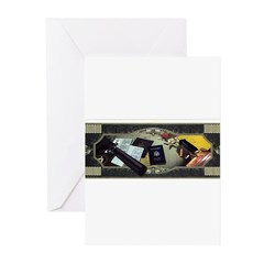 CIA Tools of the Trade Greeting Cards (Pk of 10)