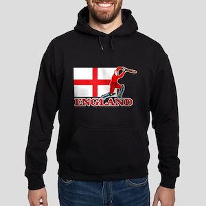 English Cricket Player Hoodie (dark)