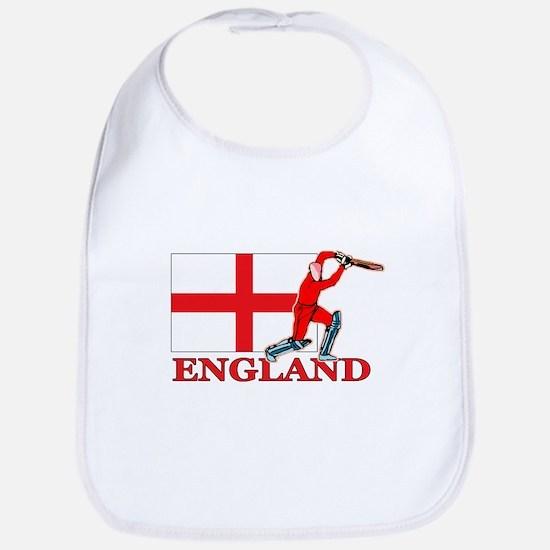 English Cricket Player Bib