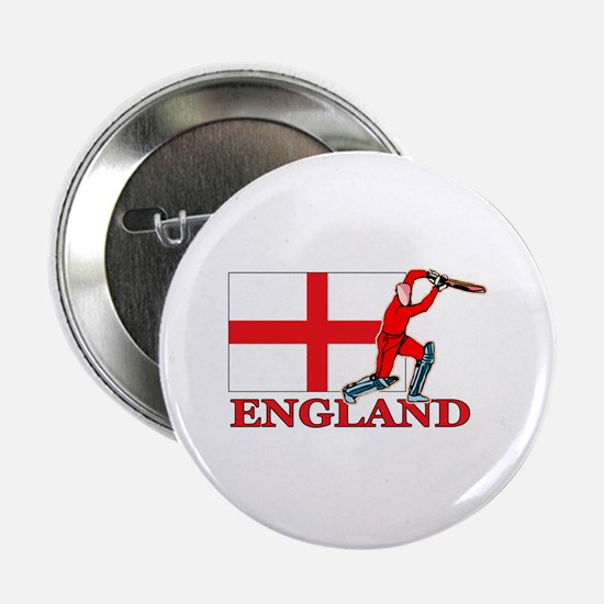 "English Cricket Player 2.25"" Button (10 pack)"