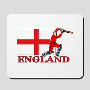 English Cricket Player Mousepad