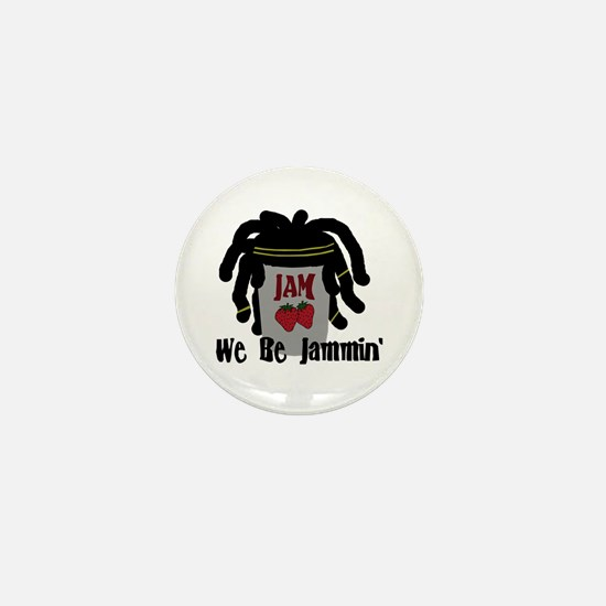 Riyah-Li Designs We Be Jammin Mini Button