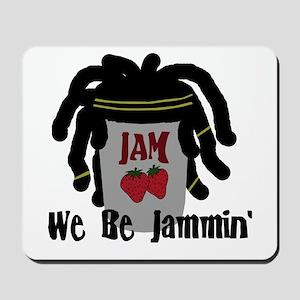 Riyah-Li Designs We Be Jammin Mousepad