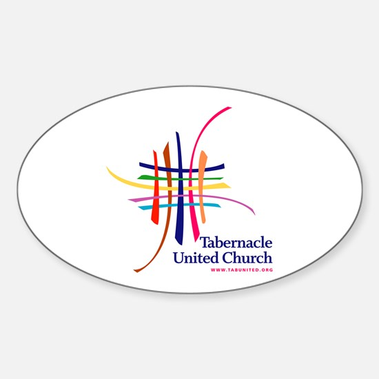 Tabernacle United Church Oval Decal