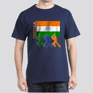 India Cricket Dark T-Shirt