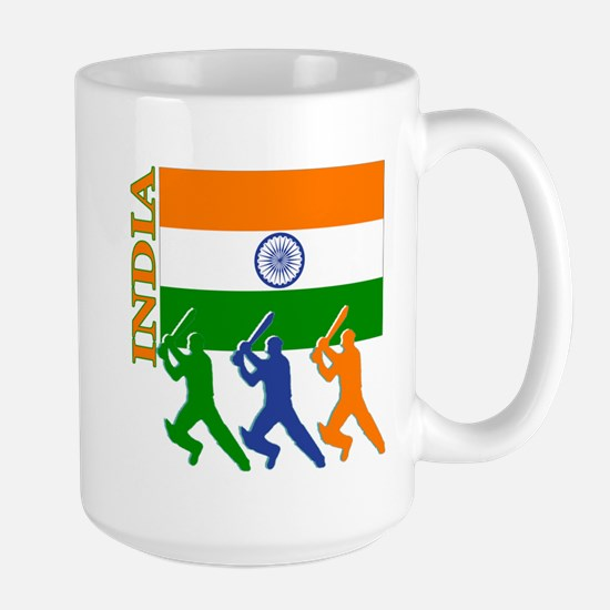 India Cricket Large Mug
