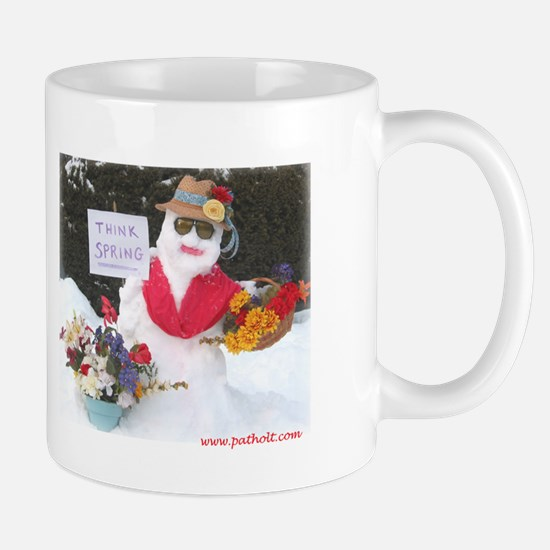 Cute Think snow Mug