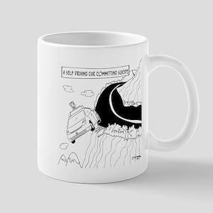 Self Driving Car Cartoon 9467 Mug