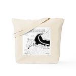 Self Driving Car Cartoon 9467 Tote Bag