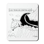 Self Driving Car Cartoon 9467 Mousepad