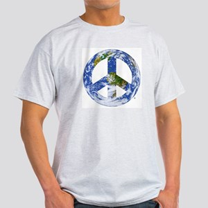 World Peace Sign East Light T-Shirt